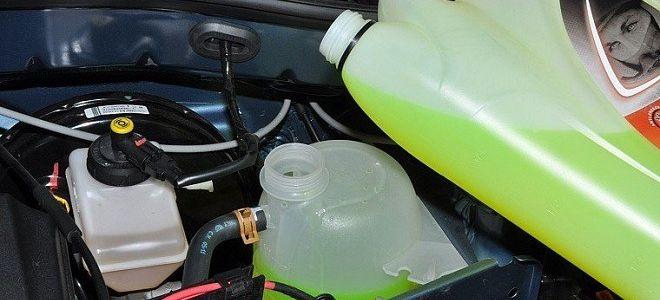 Лада Ларгус замена охлаждающей жидкости
