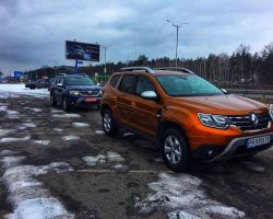 Рено Дастер 2019 в новом кузове фото и тест-драйв