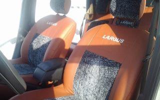 Чехлы на сиденья Лада Ларгус 7 и 5 мест