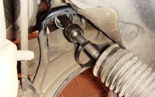 Замена рулевой тяги Рено Логан своими руками