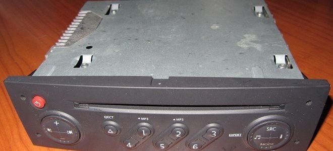 Рено Меган 2 штатная магнитола инструкция