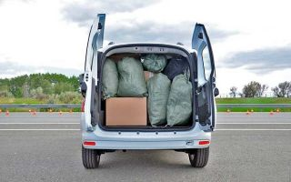 Объем грузового отсека и грузоподъемность Лада Ларгус Кросс