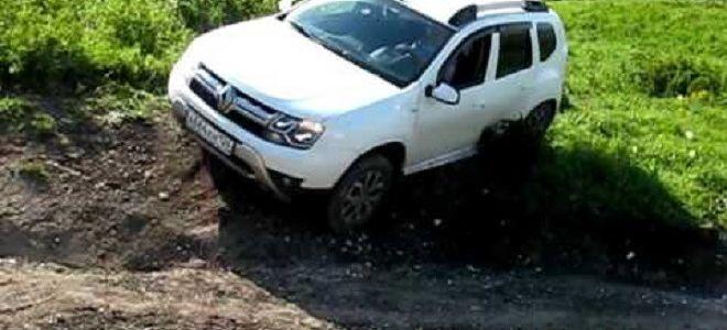Тест-Драйв Рено Дастер в грязи