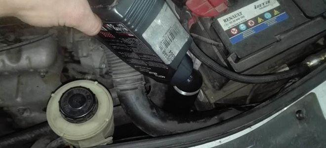 Лада Ларгус замена масла в КПП