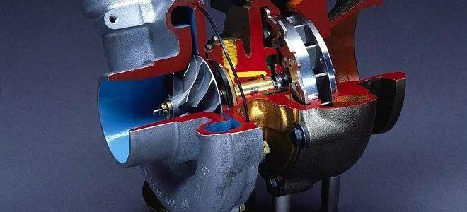 Принцип работы турбо двигателя