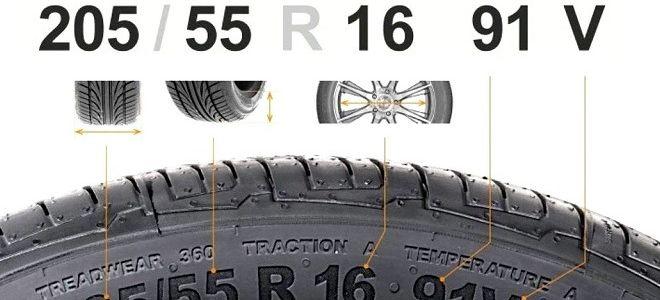Размеры шин расшифровка