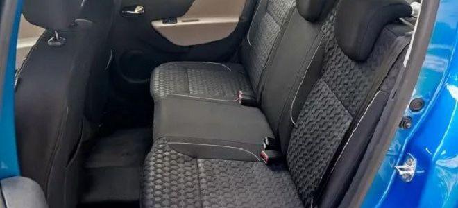 Как снять заднее сиденье на Рено Логане