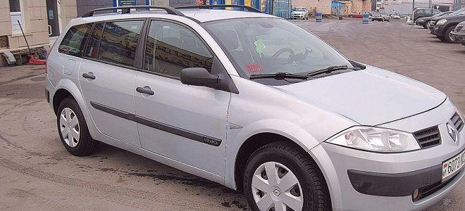Рено Меган универсал 2008 технические характеристики (дизель и бензин)