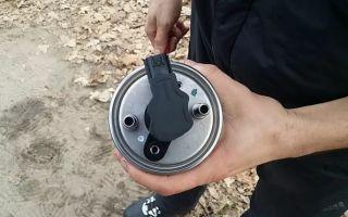 Рено Меган 3 замена топливного фильтра