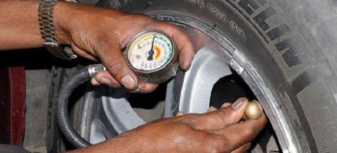 Рено Логан давление в шинах