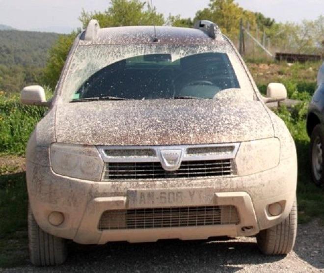 грязный Дастер