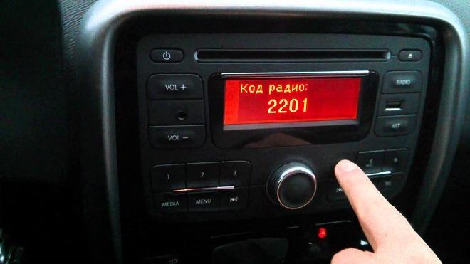 радио рено дастер