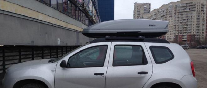 верхний багажник для Рено Дастер