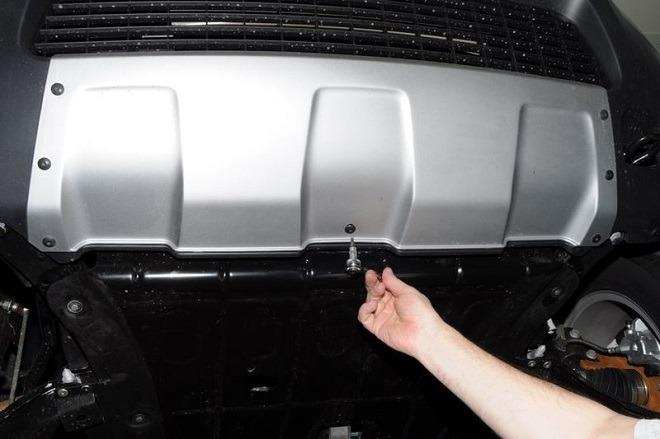 защита двигателя Дастер