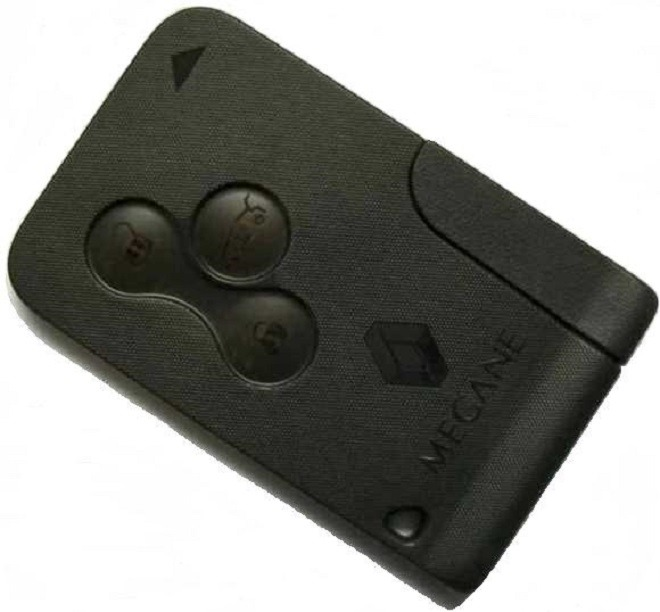 рено меган 2 ключ карта