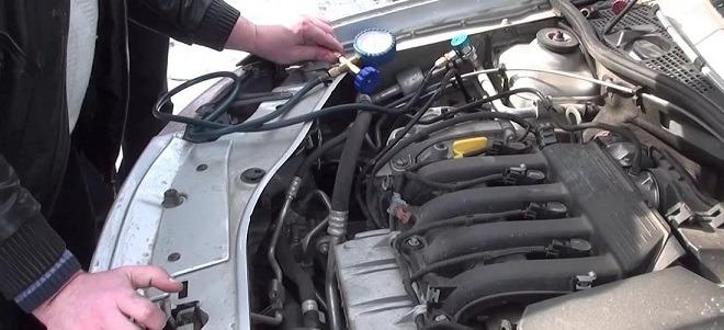 рено меган компрессор кондиционера