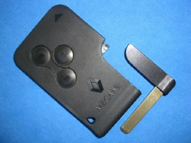 ключ чип рено