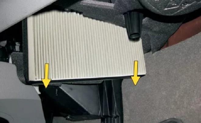 как менять фильтр салона рено меган 3