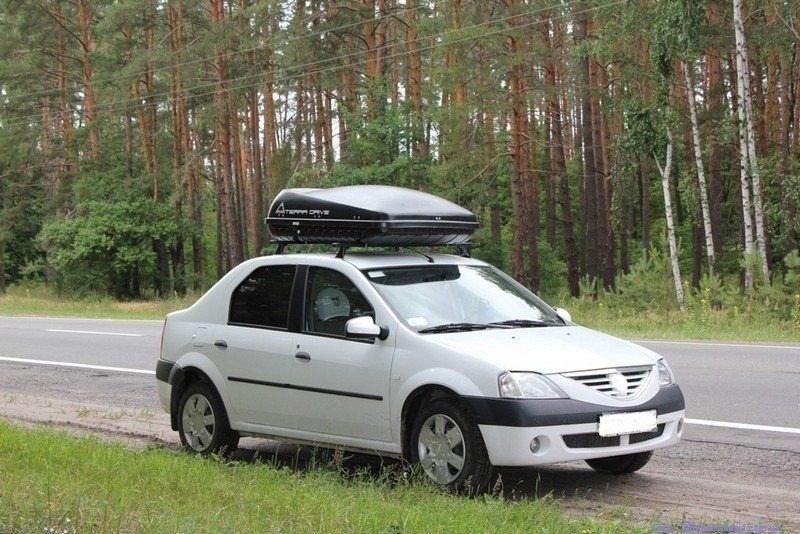 багажник на крышу логан