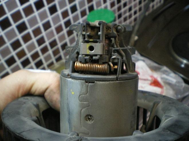моторчик отопителя меган 2