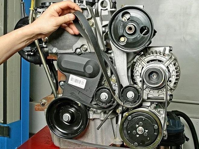 рено логан ремень дополнительного оборудования